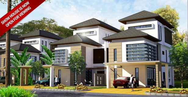 Three Storey Semi Detached House (TYPE A)
